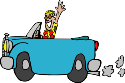 Blue Car clipart car ride Art Art Animated Pictures Free