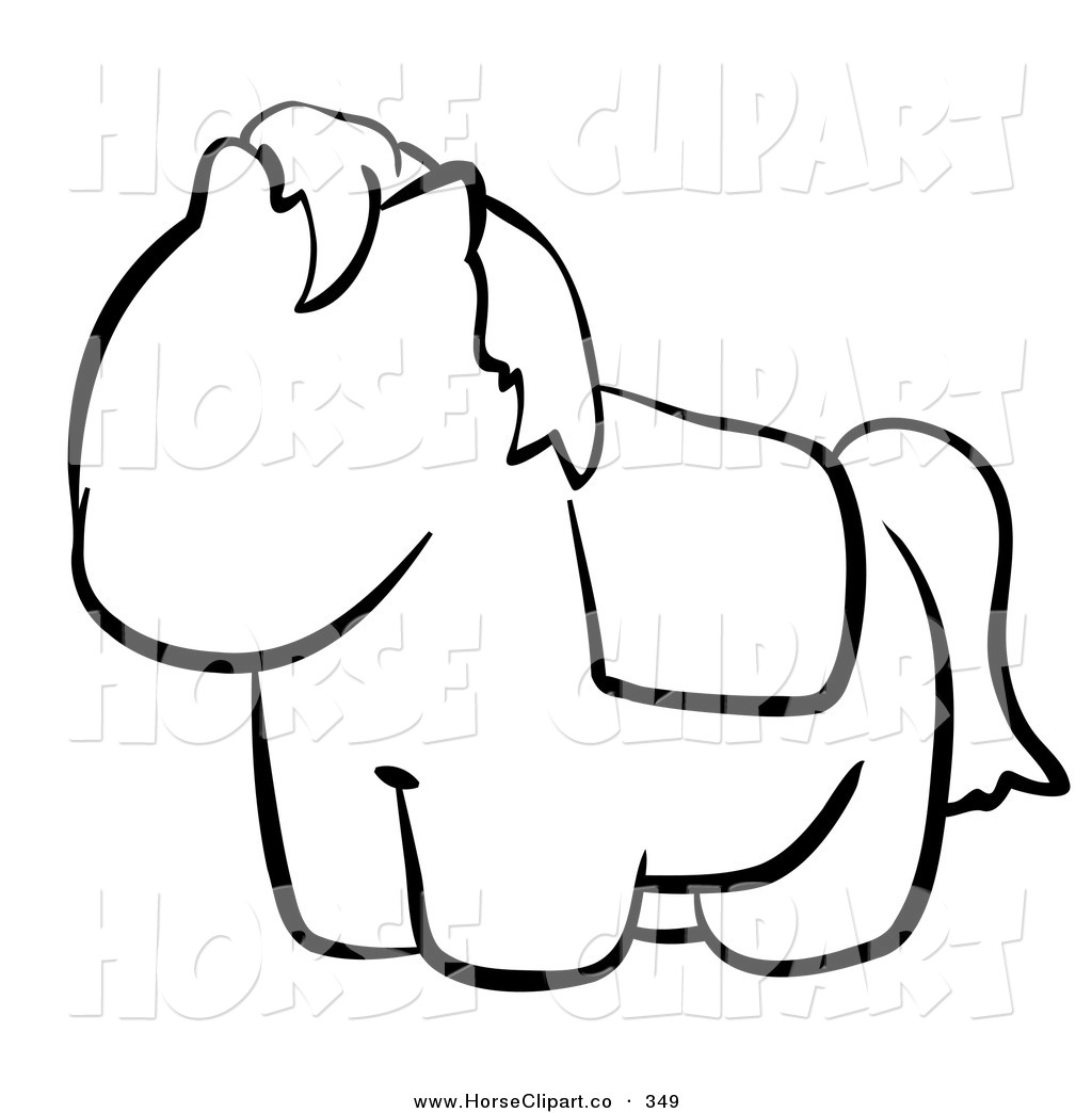Drawn horse cute And  clip Pages Free