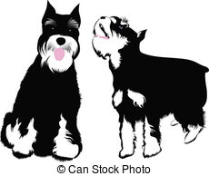 Miniature clipart vehicle Dog black Vector  of