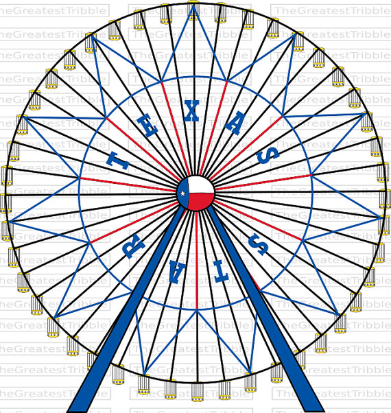 Ferris Wheel clipart mini Wheel Star PNG Vector Graphic