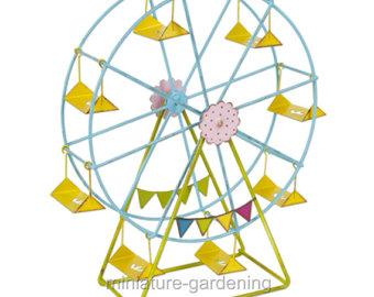 Miniature clipart ferris wheel Garden Ferris Wheel Ferris Fairy