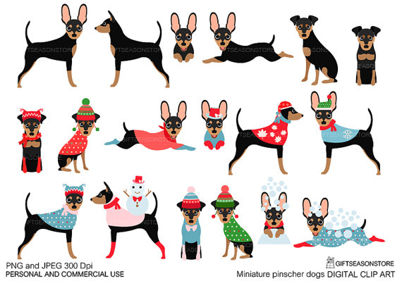 Miniature Pinscher clipart Clip dogs for for from