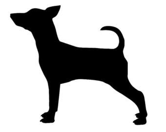 Miniature Pinscher clipart V1 Custom your Dog Pinscher
