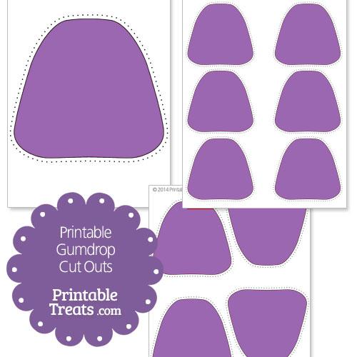 Mint clipart gumdrop Purple Purple Printable printable outs
