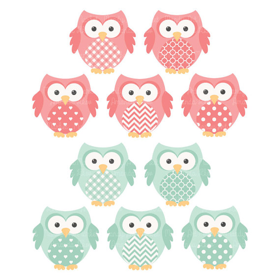 Mint clipart owl Clipart Papers Vectors Mint and