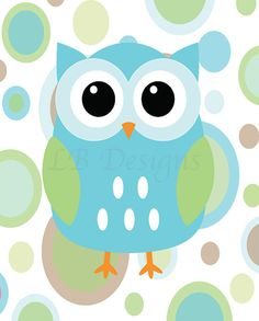Mint clipart owl And Nursery clip Aqua #5