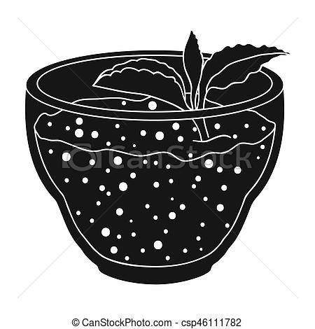 Mint clipart single With leaf Fresh mint