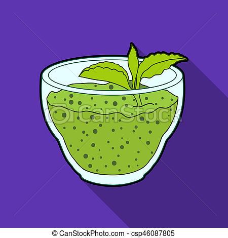 Mint clipart single Mint stock leaf flat illustration