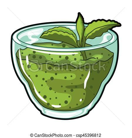 Mint clipart single A stock leaf cartoon illustration