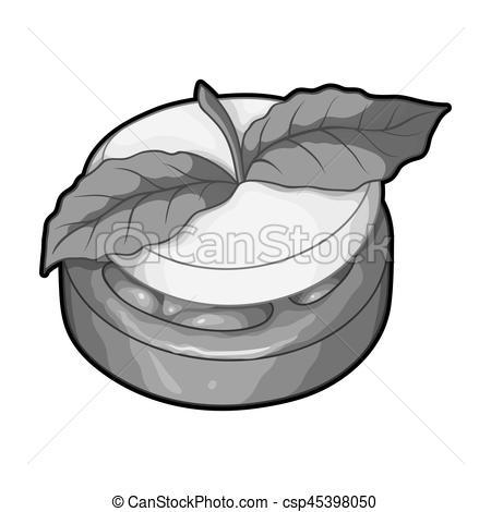 Mint clipart single Vegetarian tomato Clipart Hamburger and