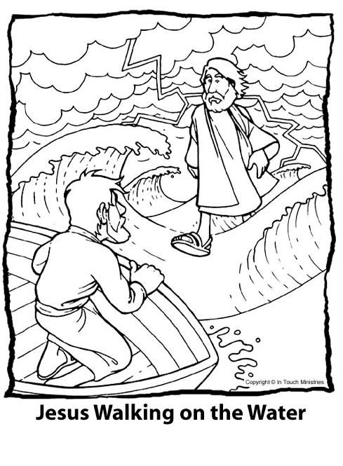 Drawing Bible: and Page Jesus