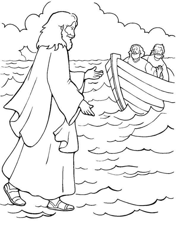 Pinterest is best Walking Jesus