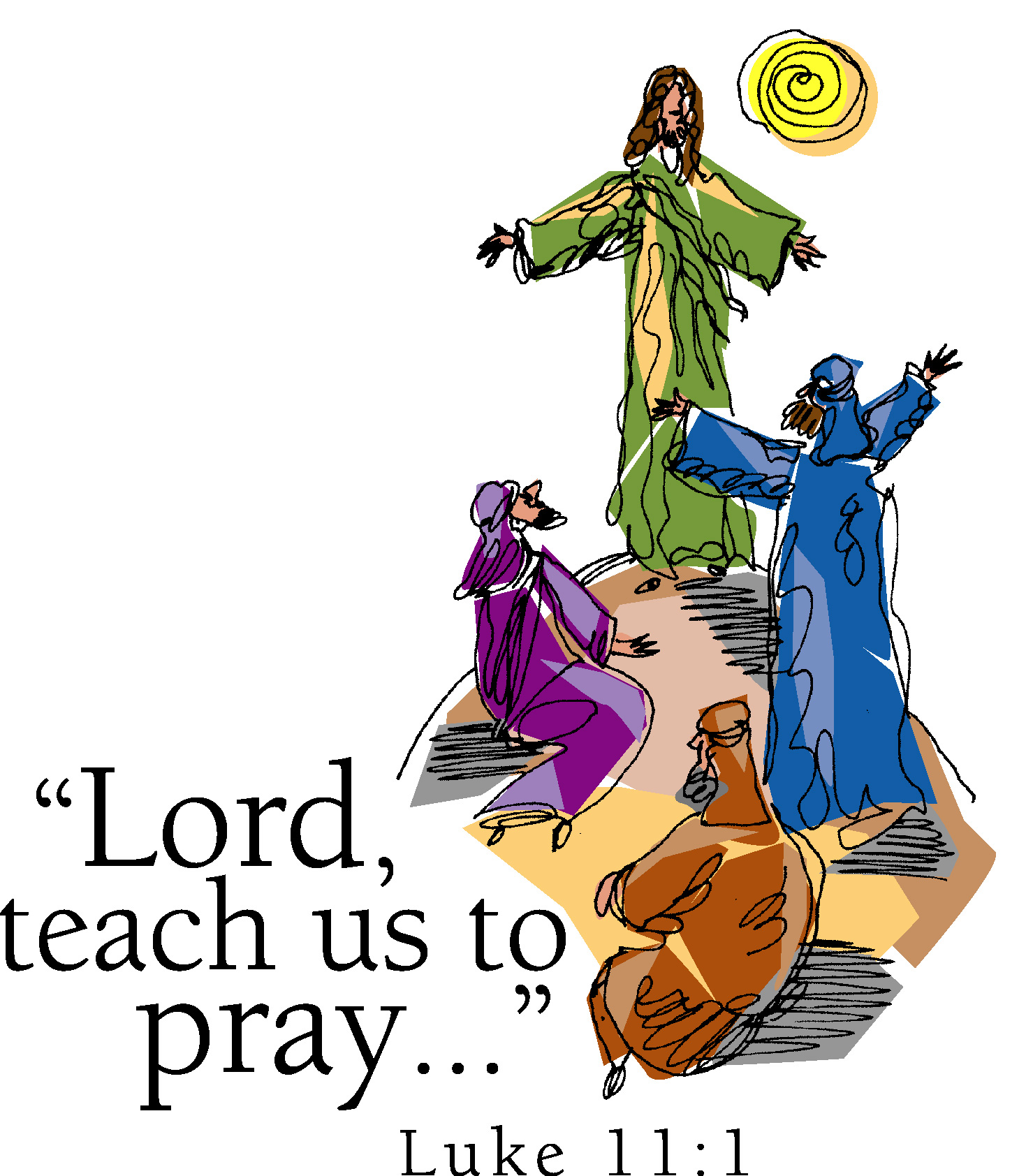 Miracle clipart lord's prayer #10