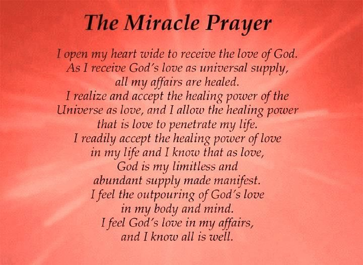 Miracle clipart lord's prayer #9