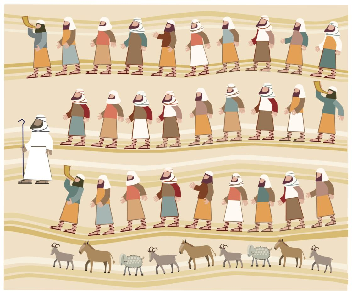 Miracle clipart moses exodus Who During the Exodus? the