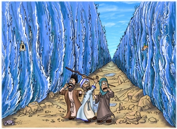 Miracle clipart moses exodus Sea After Second Moses Closes