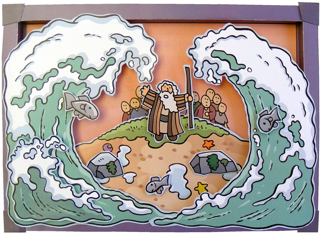 Miracle clipart moses exodus Red about Bible Class Pinterest