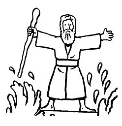 Miracle clipart red sea #15
