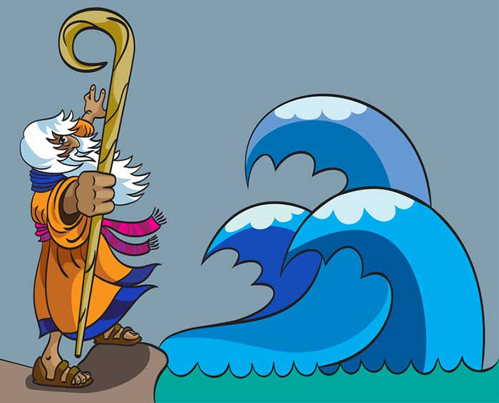 Miracle clipart red sea #6