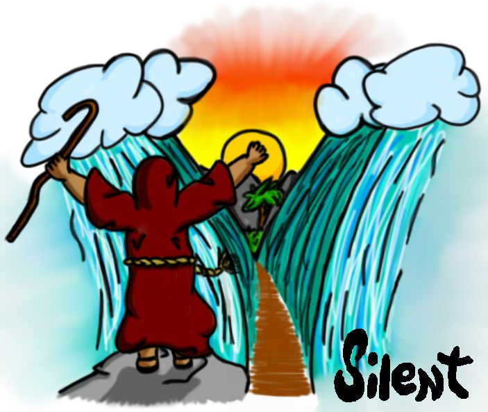Miracle clipart red sea #9