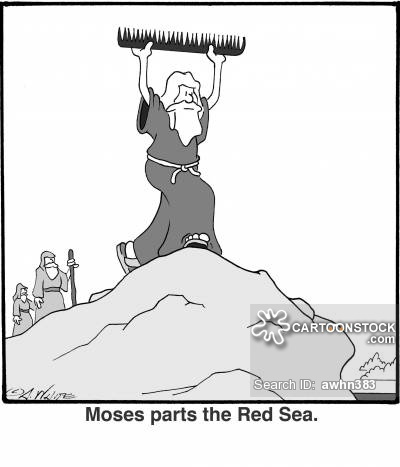 Miracle clipart red sea #13