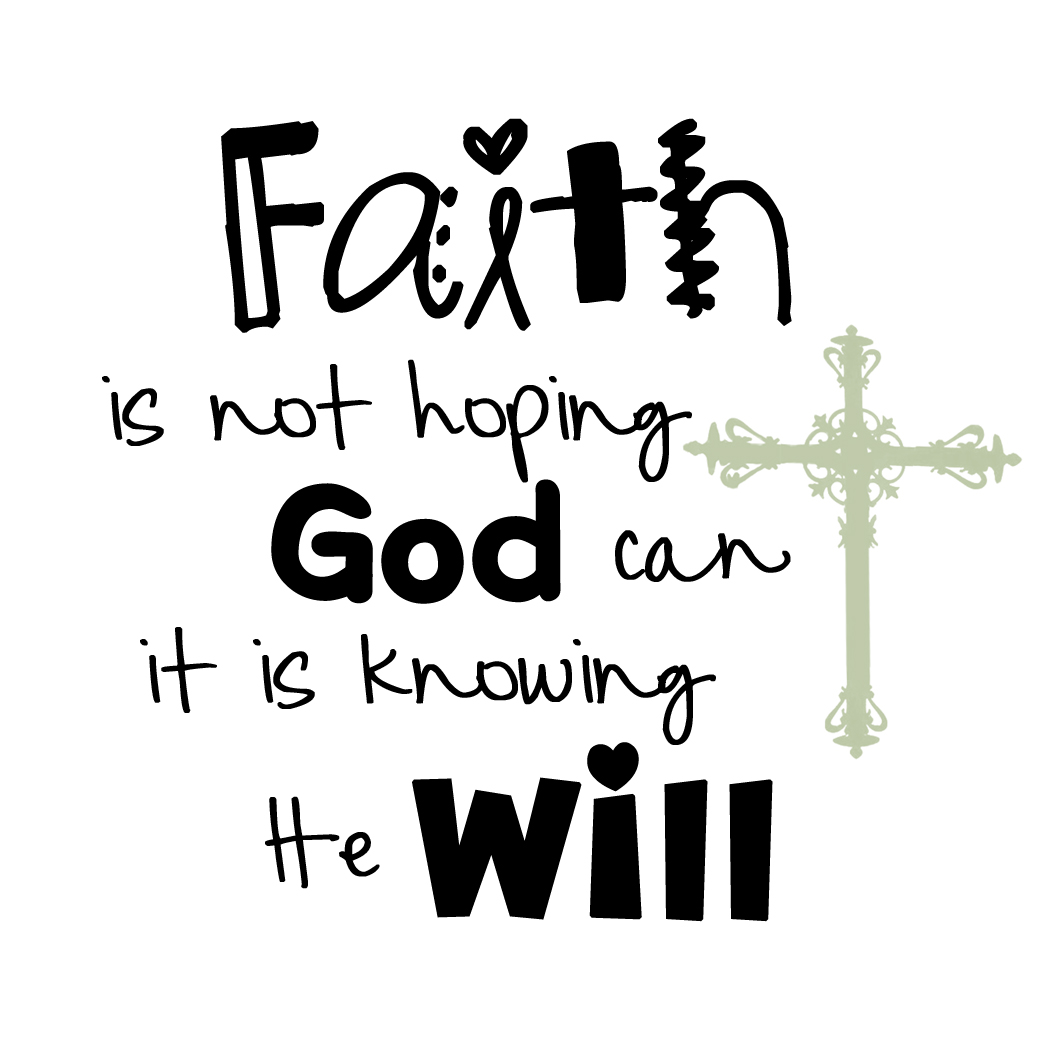 Miracle clipart trust god #3