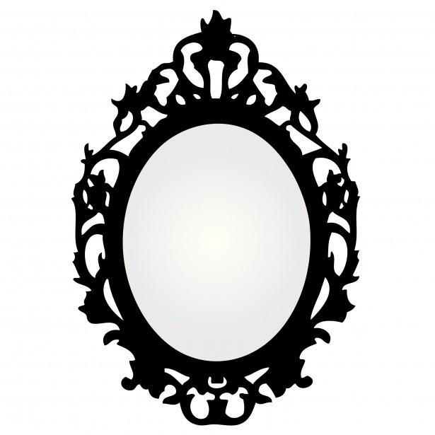 Mirror  Antique Clipart