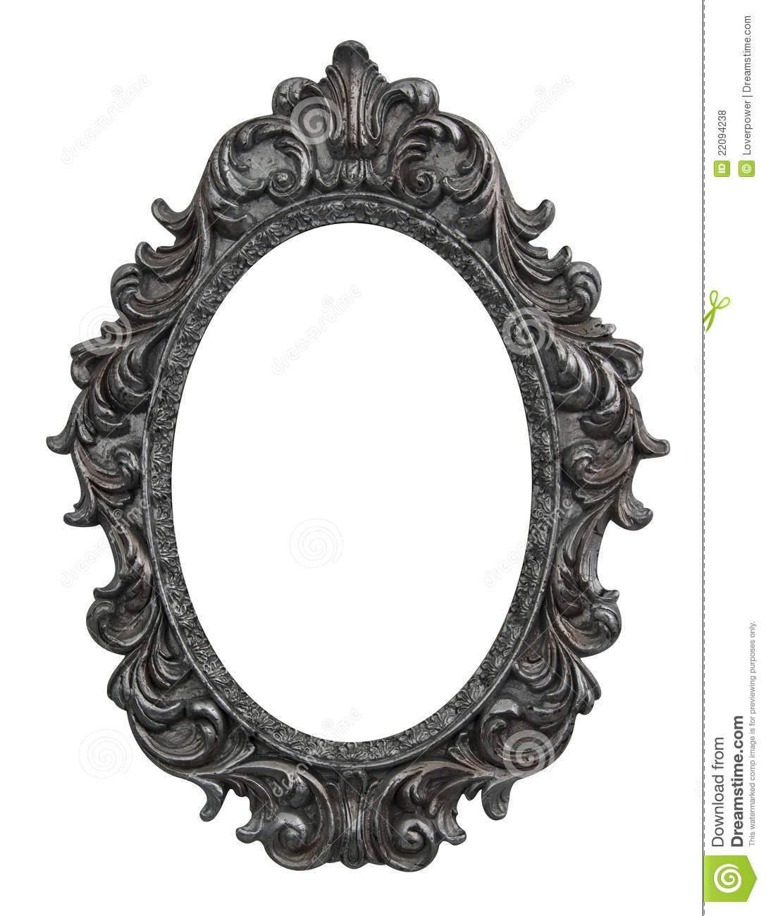 Mirror clipart baroque frame Http://thumbs  oval 22094238 frame