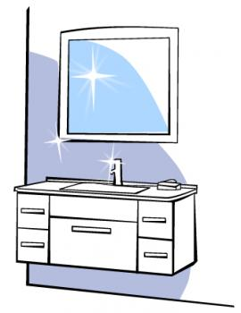 Mirror clipart cleaning bathroom Bathroom your and can look