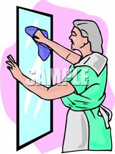 Mirror clipart cleaning bathroom A Cleaning Mirror A A