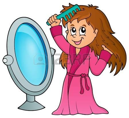 Mirror clipart comb Mirror 2 Boy Comb And
