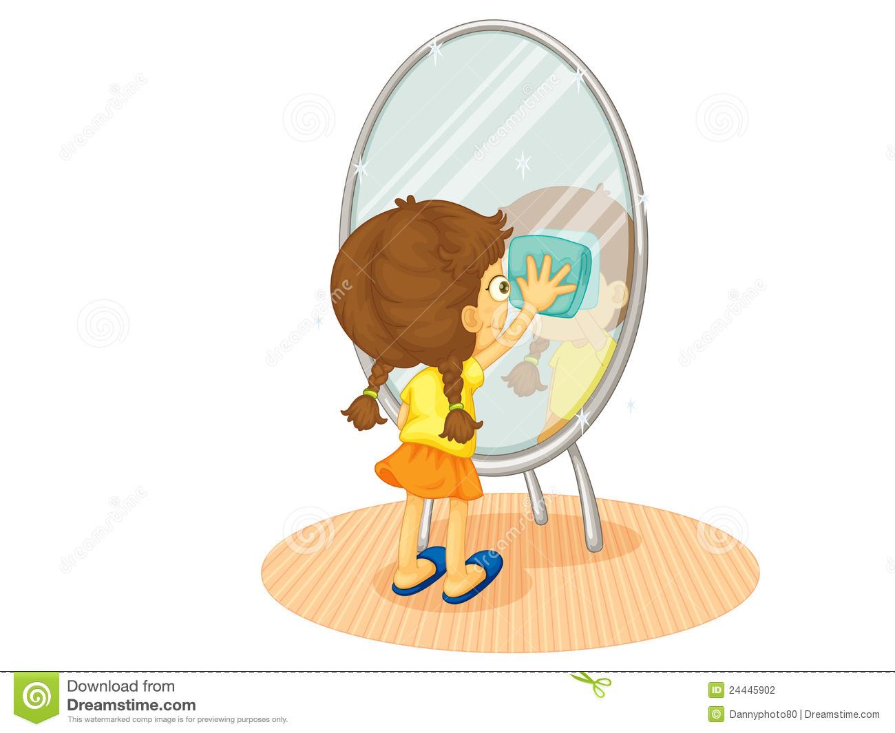 Mirror clipart cute #6