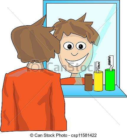 The Looking at  clipart