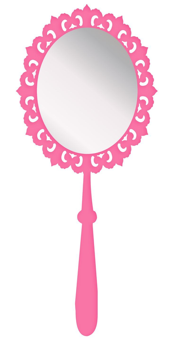 Mirror clipart girly #2