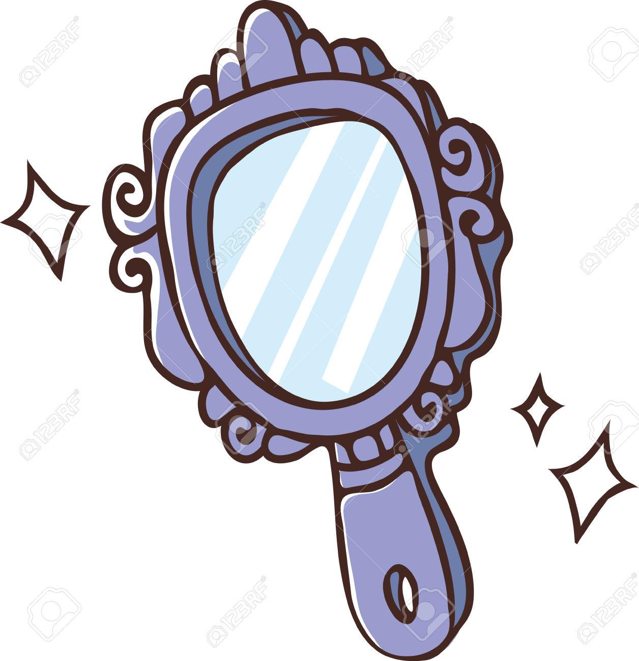 Mirror clipart hand mirror #9