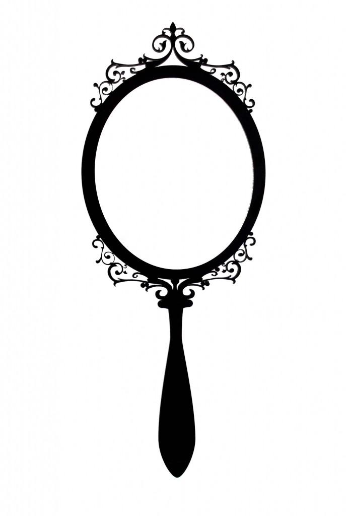 Mirror clipart hand mirror #4