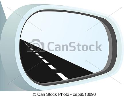 Mirror clipart icon Road  the the csp6513890