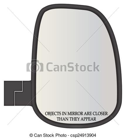 Mirror clipart icon Side A Objects  Truck