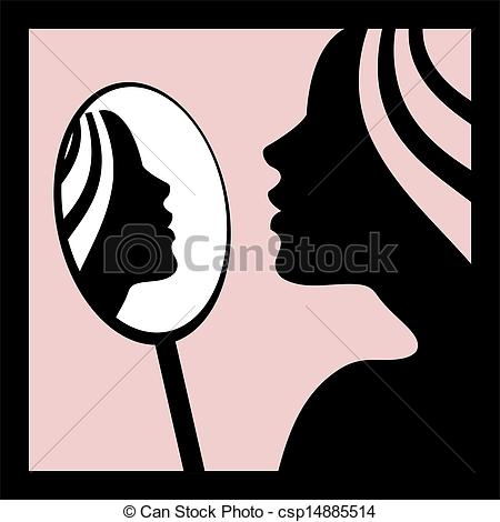 Mirror clipart royal In the the Stock looking