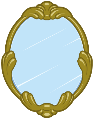Mirror clipart magic mirror Fandom Mirror by  Moshi