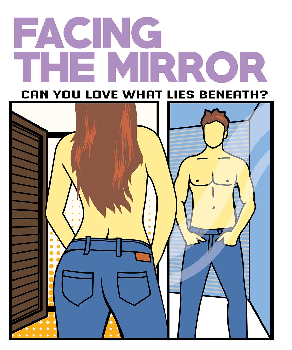 Mirror clipart man love #2
