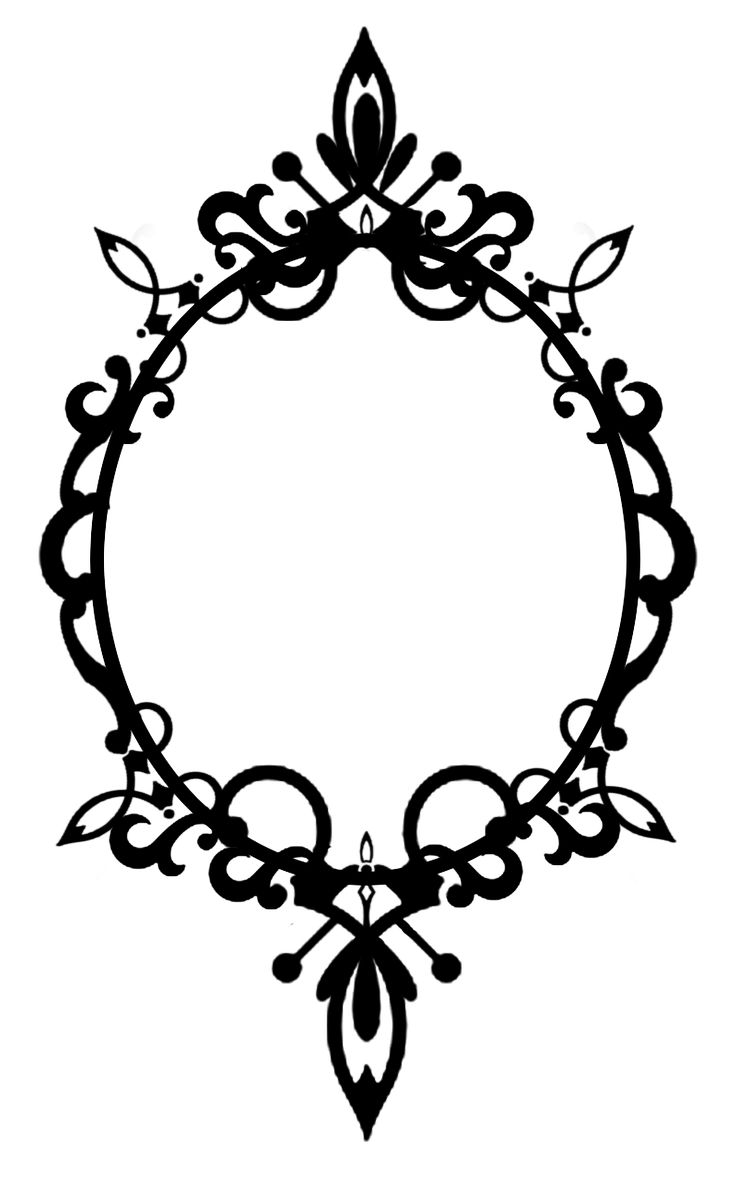 Mirror clipart royal Oval for Frame SEE
