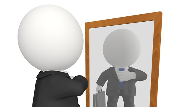 Mirror clipart personal reflection #5