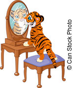 Mirror clipart personal reflection #4