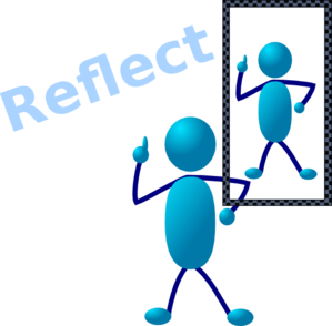 Reflection clipart learning #3
