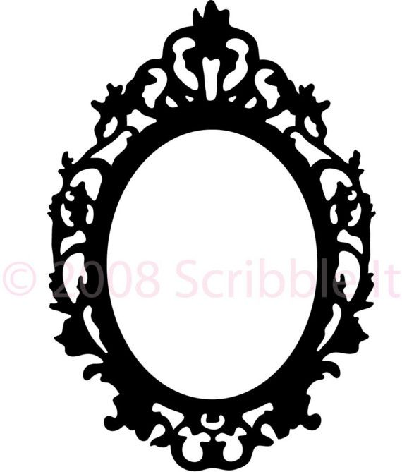 Mirror clipart silhouette 402 more images jpeg best