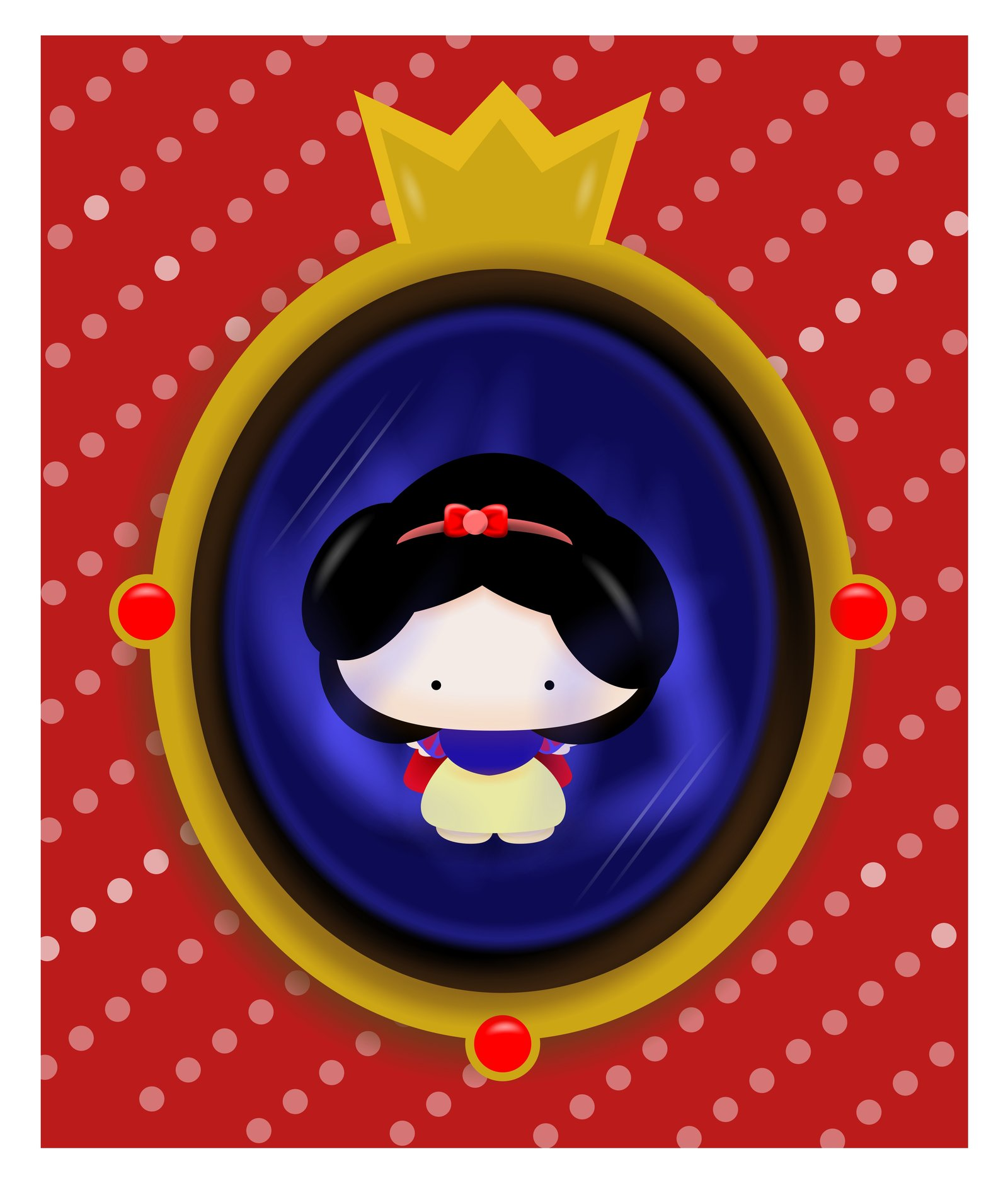 Mirror clipart snow white mirror White White on There's There's
