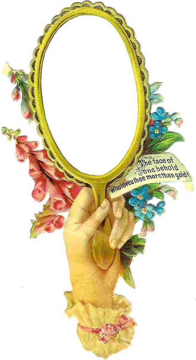 Mirror clipart victorian #15