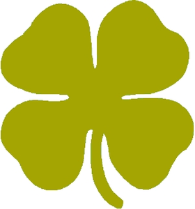 Yellow clipart shamrock Images at Mirror Clker Free