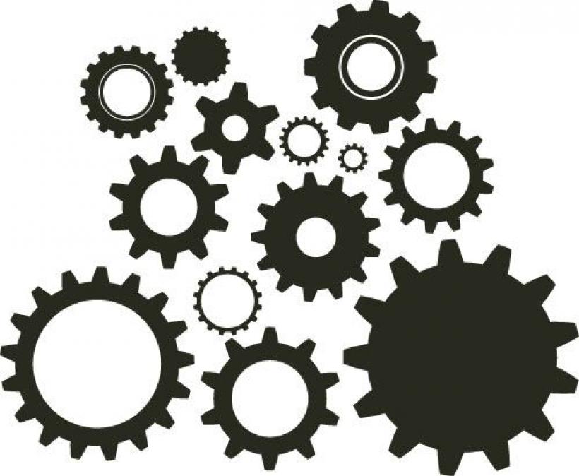 Gears clipart gear wheel Clipart pinterest wheel Collection gears
